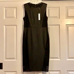 Elite Tahari dress with mesh detail - NWT